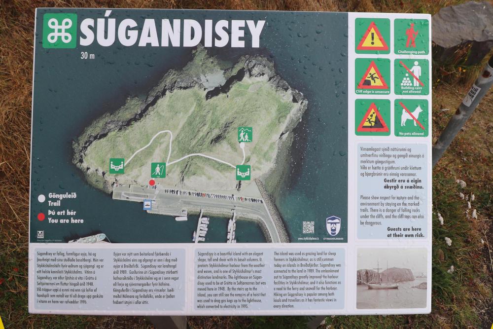 Island - Der Westen - Súgandisey