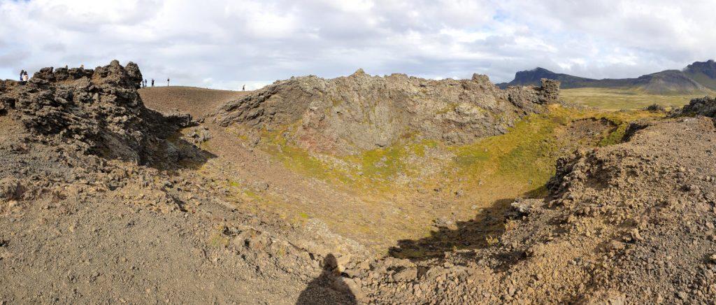 Island - Der Westen - Saxhóll Vulkan