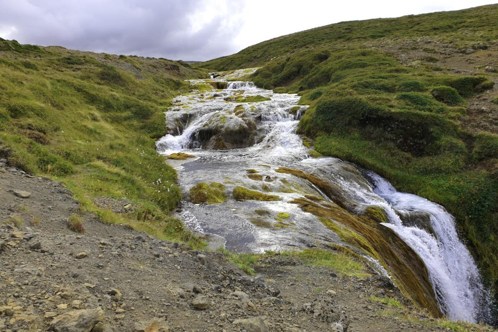 Island - Der Westen - Sheeps Waterfall