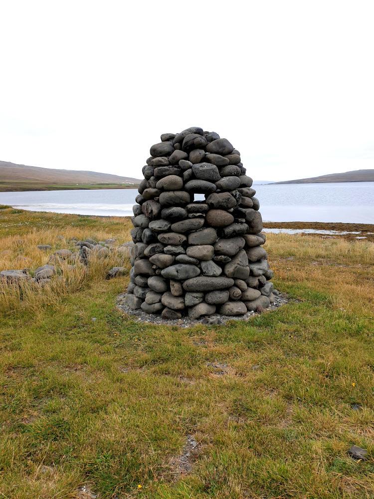 Island - Der Norden - Steinhaufen