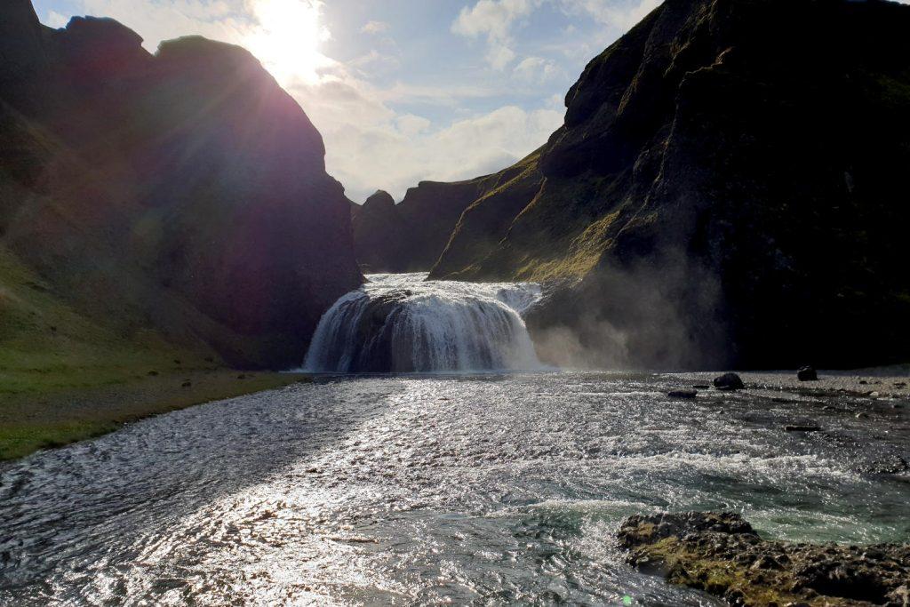 Island - Der Süden - Stjórnarfoss