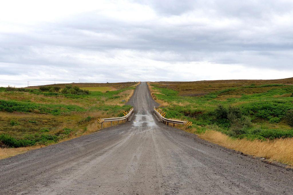 Island - Der Westen - Straßen