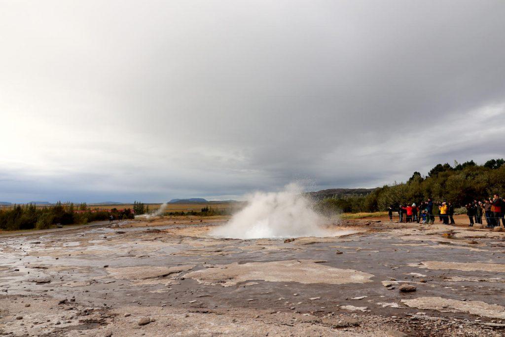 Island - Der Süden - Geysir Strokkur