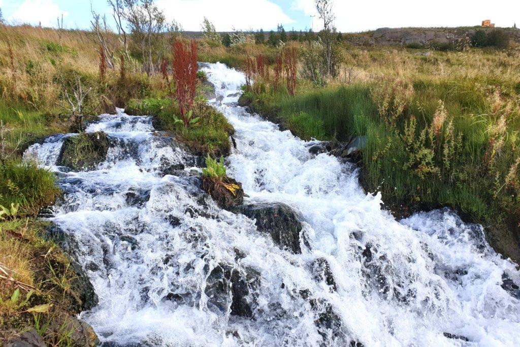 Island - Der Norden - Wasserfall