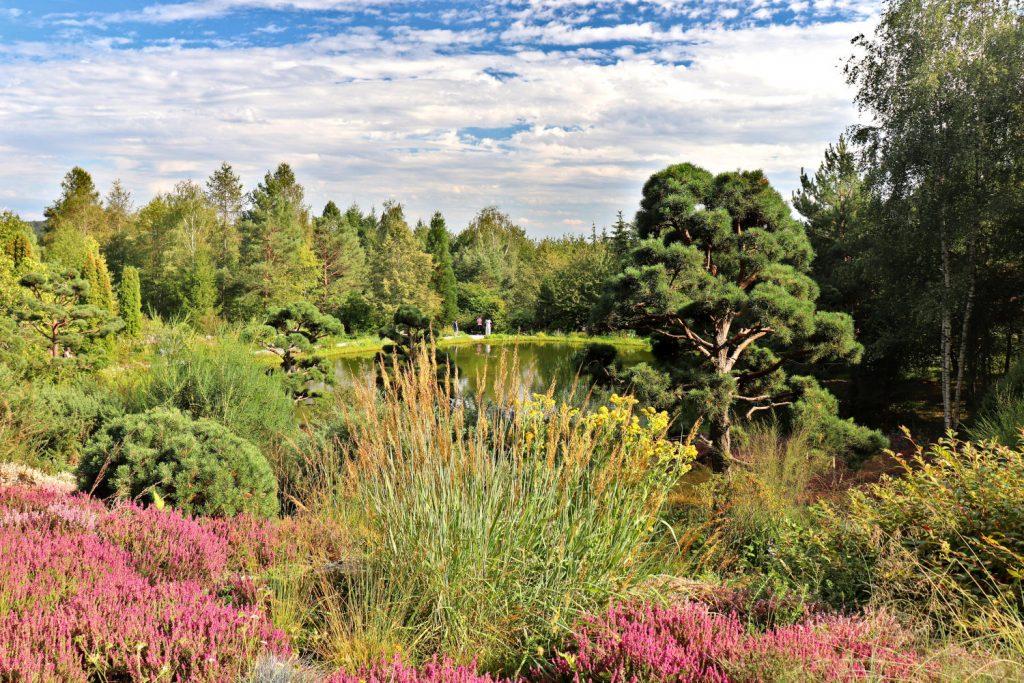 Deutschland - Wiesent - Nepal Himalaya Park - Heidegarten grosser See Eingang