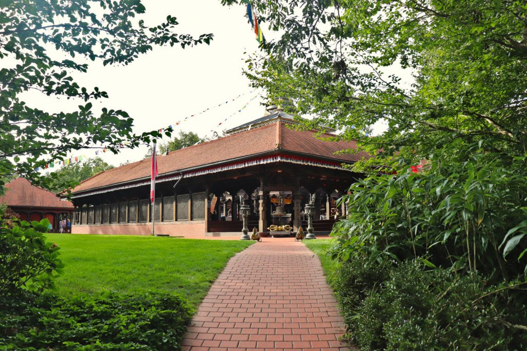 Deutschland - Wiesent - Nepal Himalaya Park - Pavillon Weg