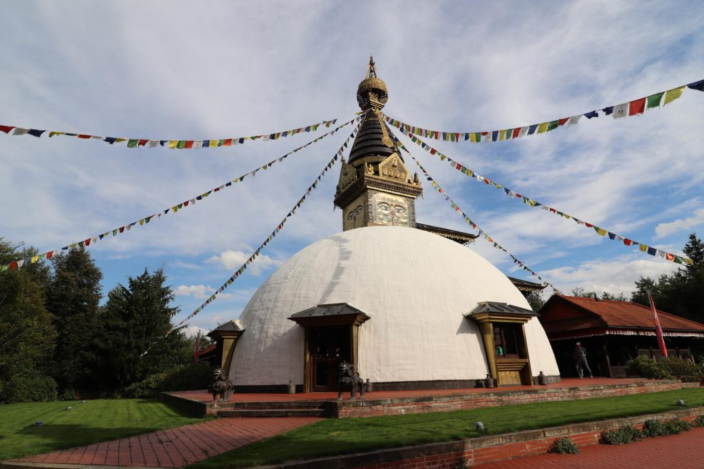 Deutschland - Wiesent - Nepal Himalaya Park - Pavillon aussen 2