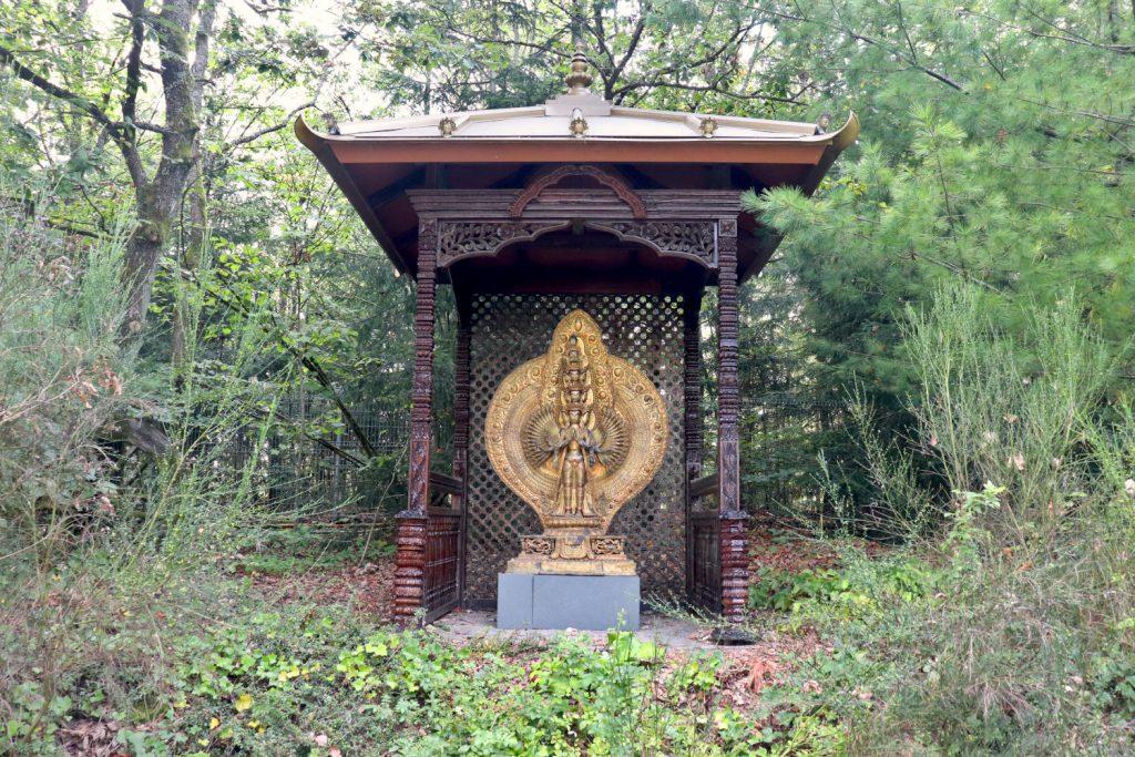 Deutschland - Wiesent - Nepal Himalaya Park - Tempelchen 2