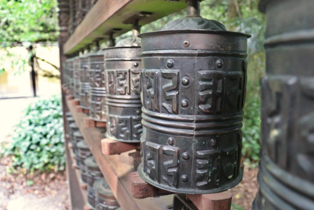 Deutschland - Wiesent - Nepal Himalaya Park - Gebetsmühlen Ausgang 2