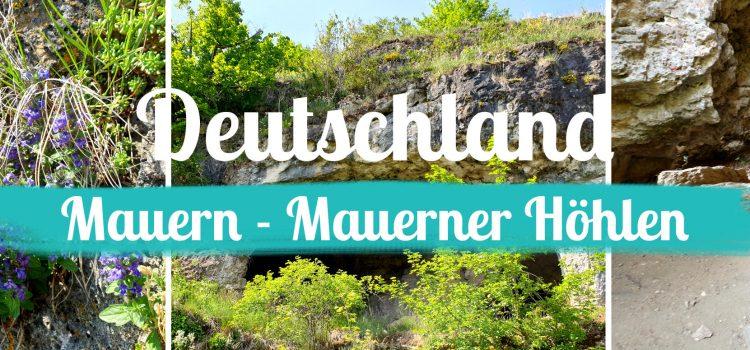 Mauern - Mauerner Hoehlen - Titelbild - mit Text
