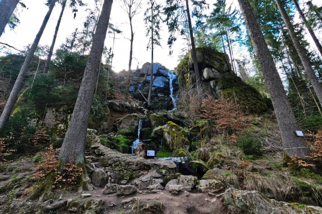 Blauenthal Wasserfall - Wasserfall gesamt 1