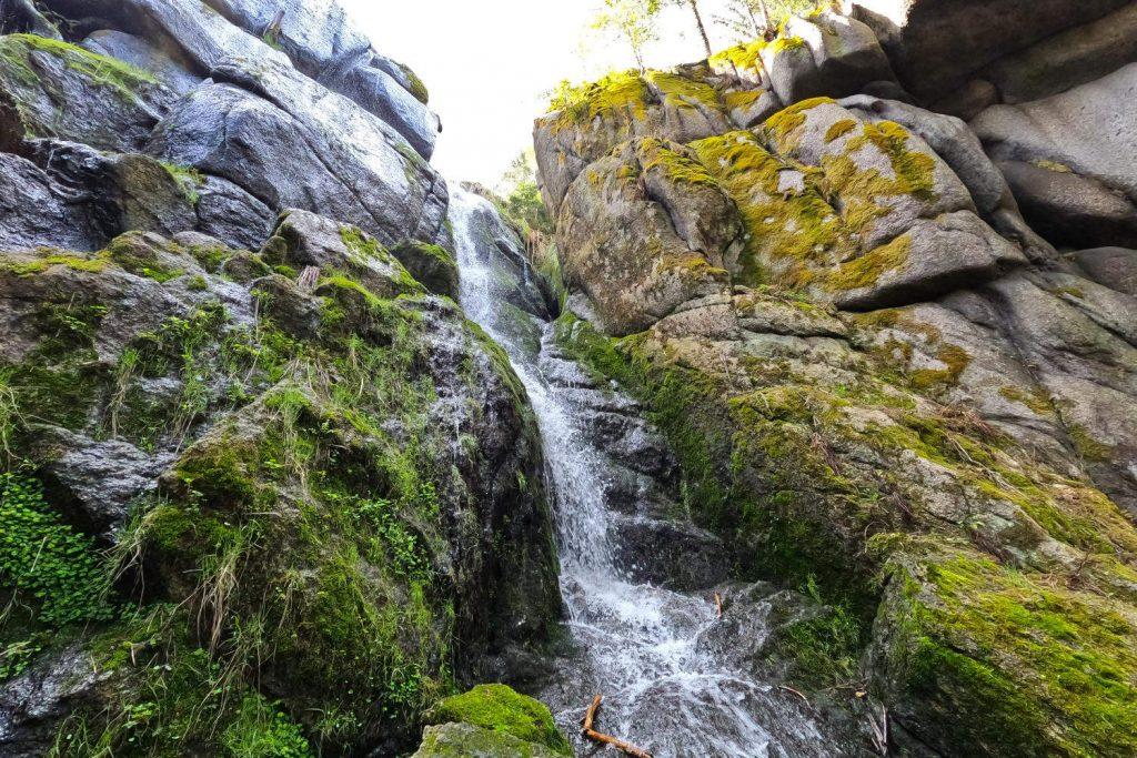 Blauenthal Wasserfall - Wasserfall oben 4