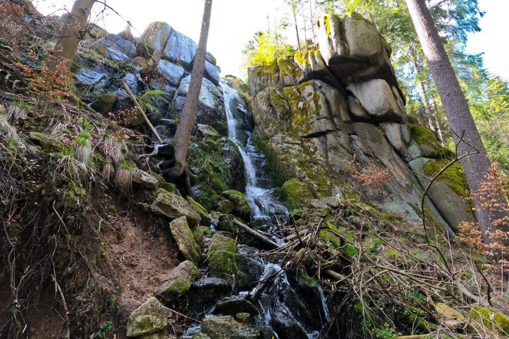Blauenthal Wasserfall - Wasserfall unten 3