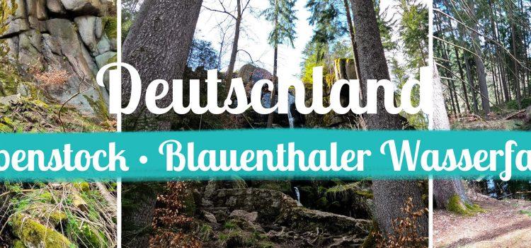 Deutschland • Eibenstock • Blauenthaler Wasserfall